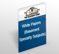 White Paper (Basement Specialty Subjects)